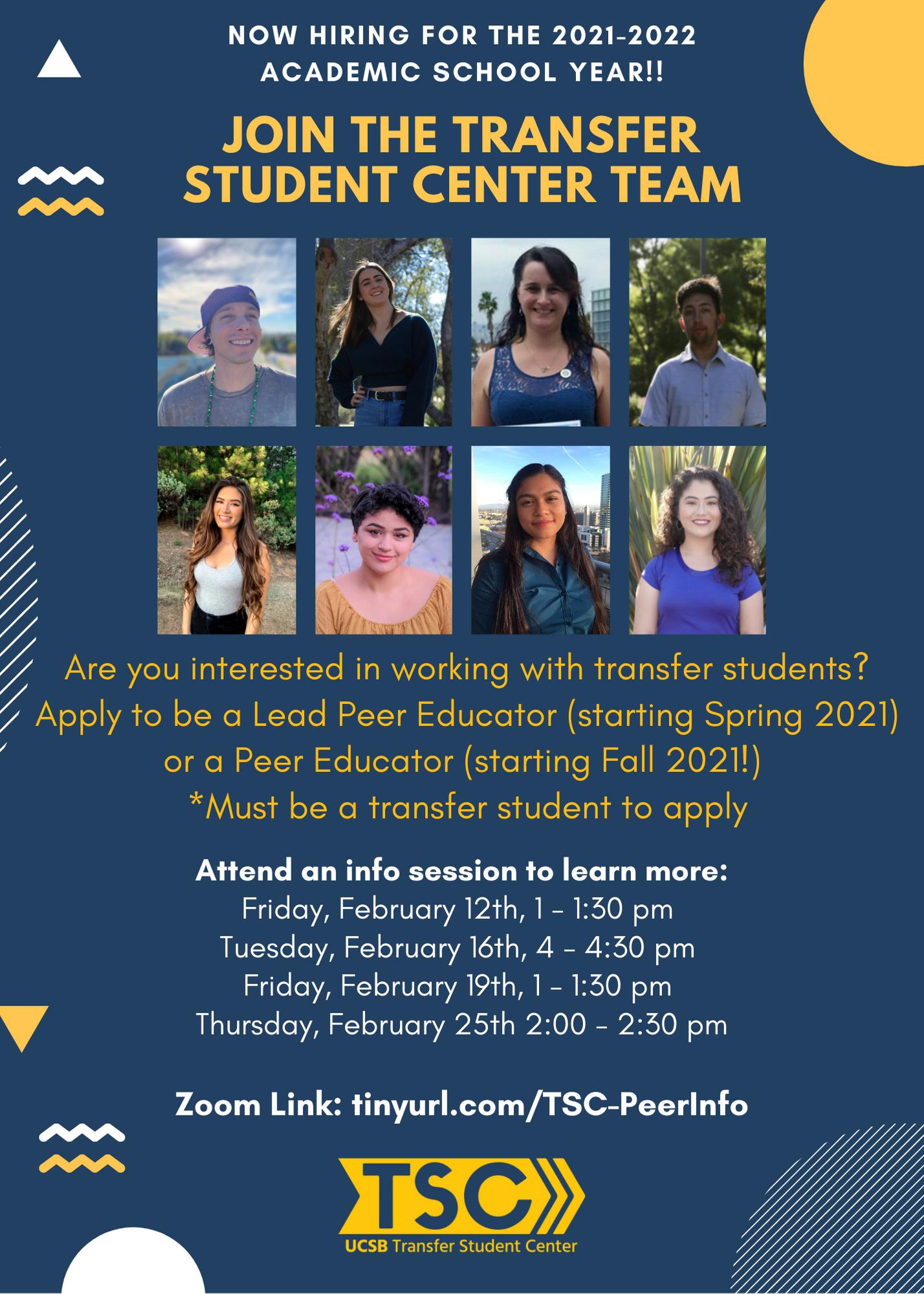 Transfer Student Center   UC Santa Barbara